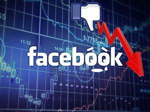 Facebook Stock Drops