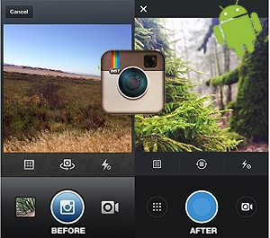 Instagram Updated App in Android