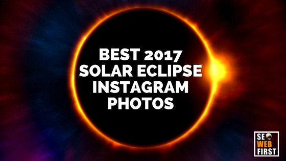 SOLAR ECLIPSE INSTAGRAM PHOTOS