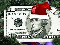 Christmas money